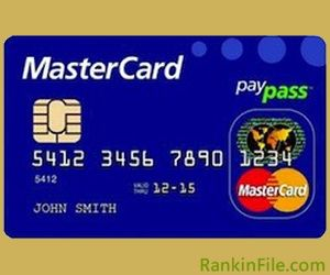 Chipped Credit Cards