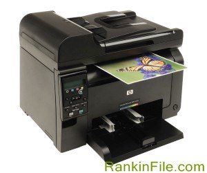 Color laser all-in-one printer